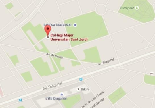 Mapa localizador San Jorge